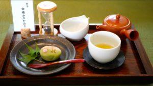 すみの八女茶・茶亭SUMIの煎茶セットの画像