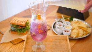 Flower Tea+Cafeのハーブソーダの画像