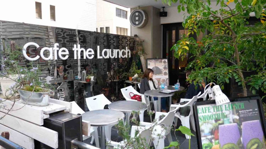 Cafe the Launchの外観の画像