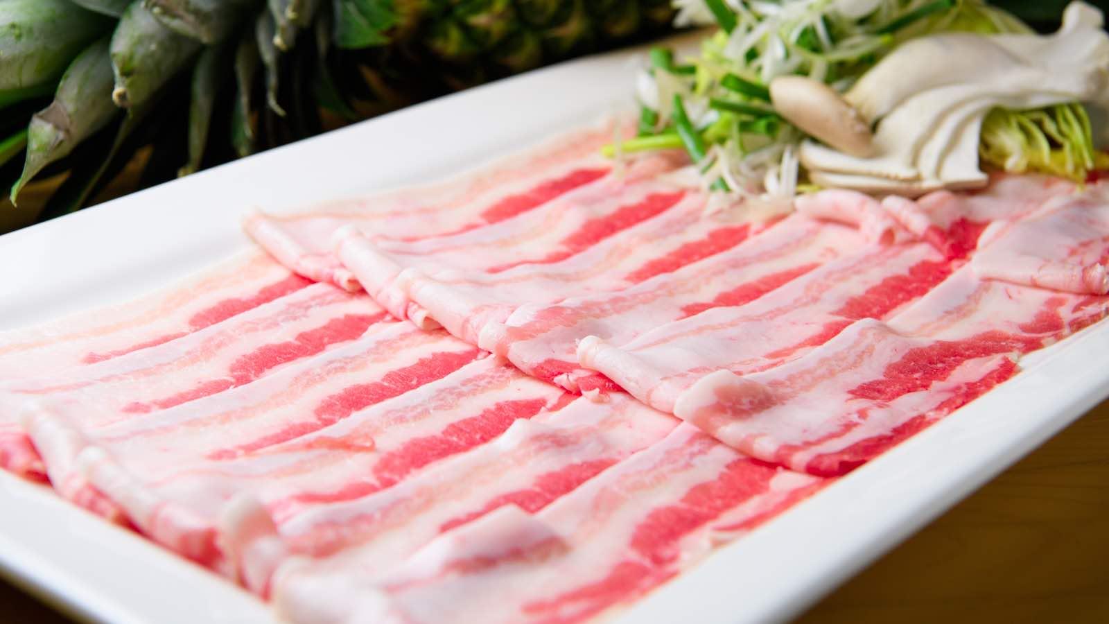 鉄板焼き しゃぶしゃぶ 博多瑞祥のお肉の画像