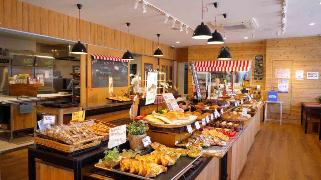 小麦工房パナシェ 三苫店の内観の画像