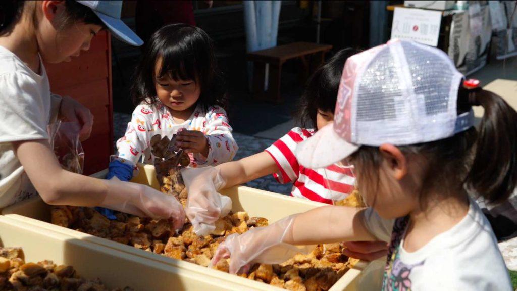 小麦工房パナシェ 三苫店のラスク詰め放題の画像