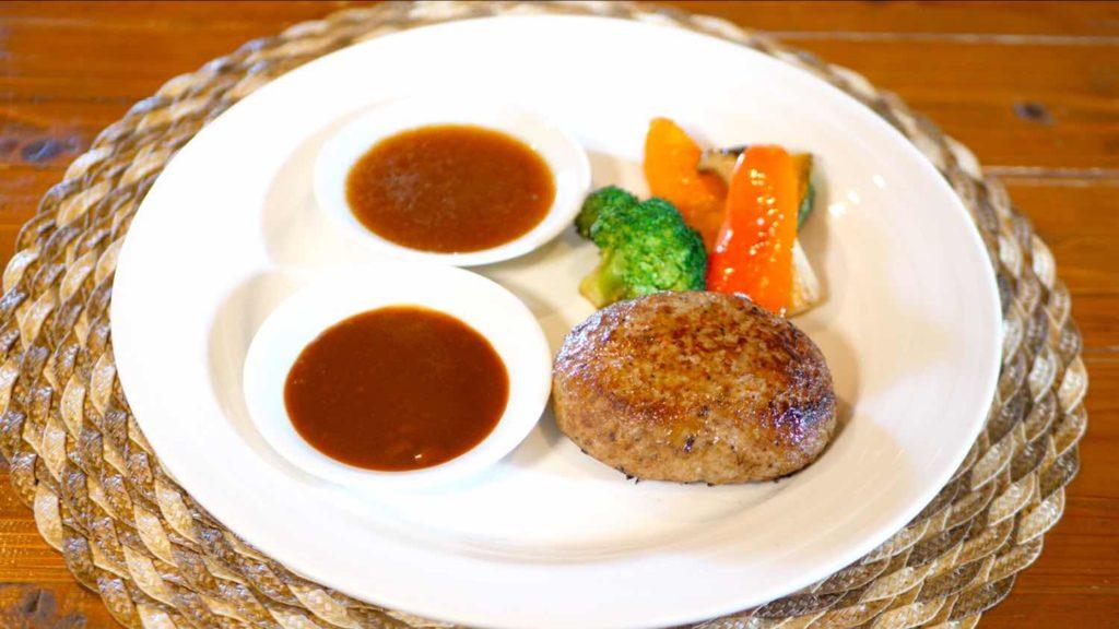 レストランITOSHIMAのハンバーグの画像
